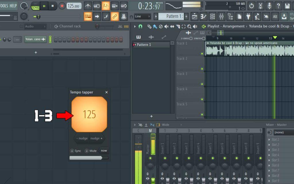 به دست آوردن سرعت آهنگ در fl studio - کتابخانه فناوری اطلاعات